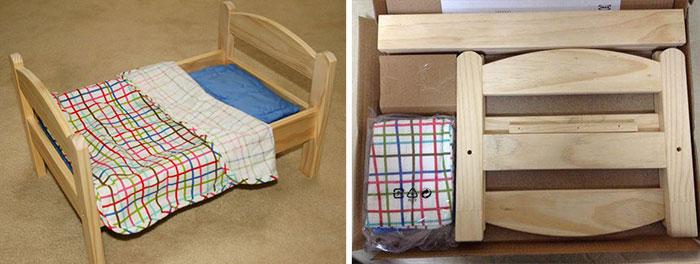 C mo transformar una cama de mu ecas de ikea en una - Cama munecas ikea ...