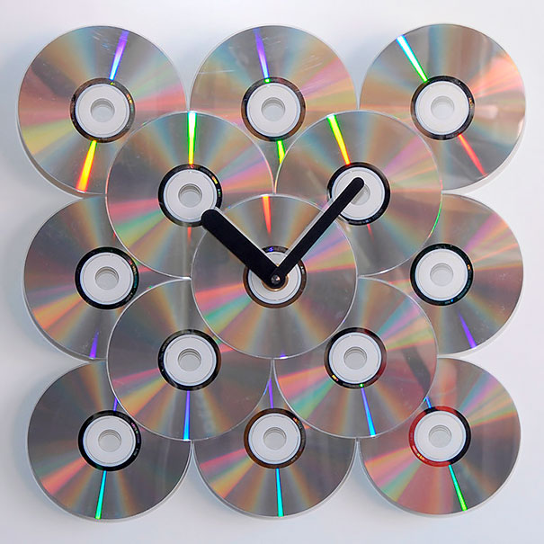 21 ideas brillantes para reciclar tus viejos cds en casa - Manualidades con discos ...