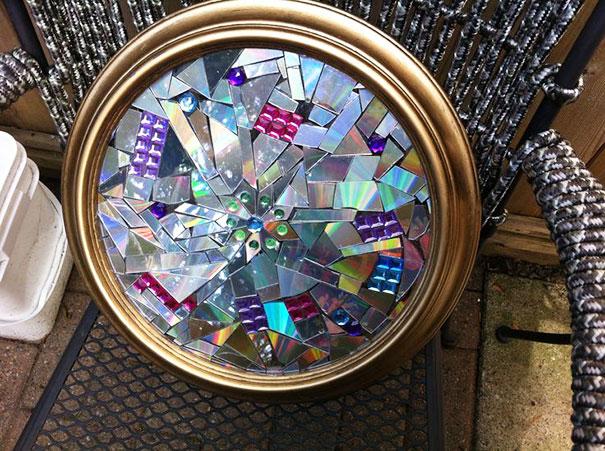 21 ideas brillantes para reciclar tus viejos cds en casa for West out of best project