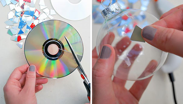 21 Ideas brillantes para reciclar tus viejos cds en casa