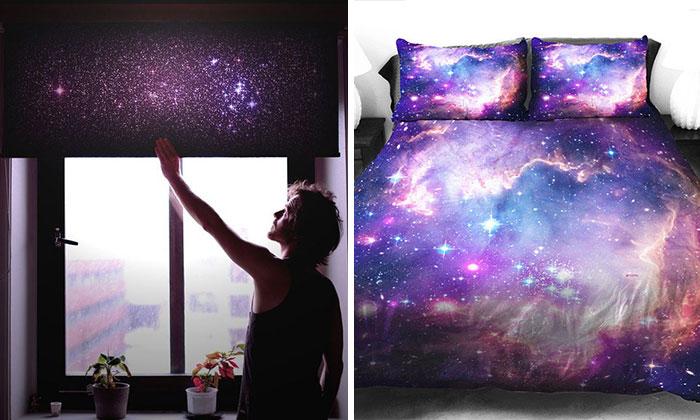 21 art culos de decoraci n espacial para traer la galaxia for Cuartos decorados con estrellas