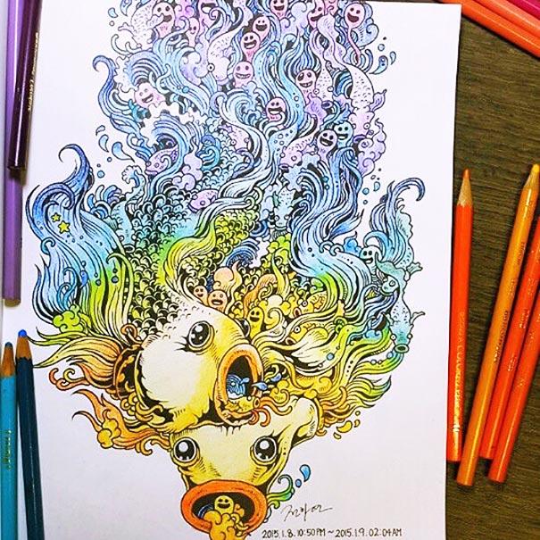 libro-colorear-adultos-doodle-invasion-kerby-rosanes (11)