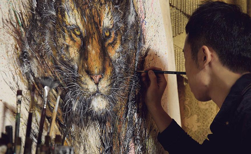 pinturas-salpicadas-animales-hua-tunan (2)