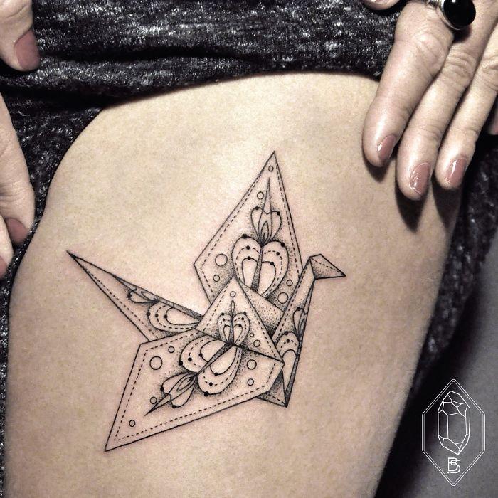 Esta tatuadora turca demuestra que menos es m s con for Minimal art que es
