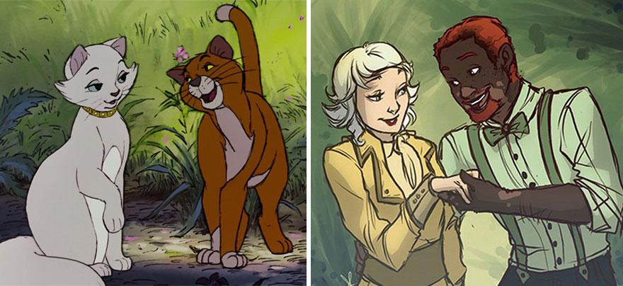 personajes-animales-disney-transformados-personas-pugletto (4)