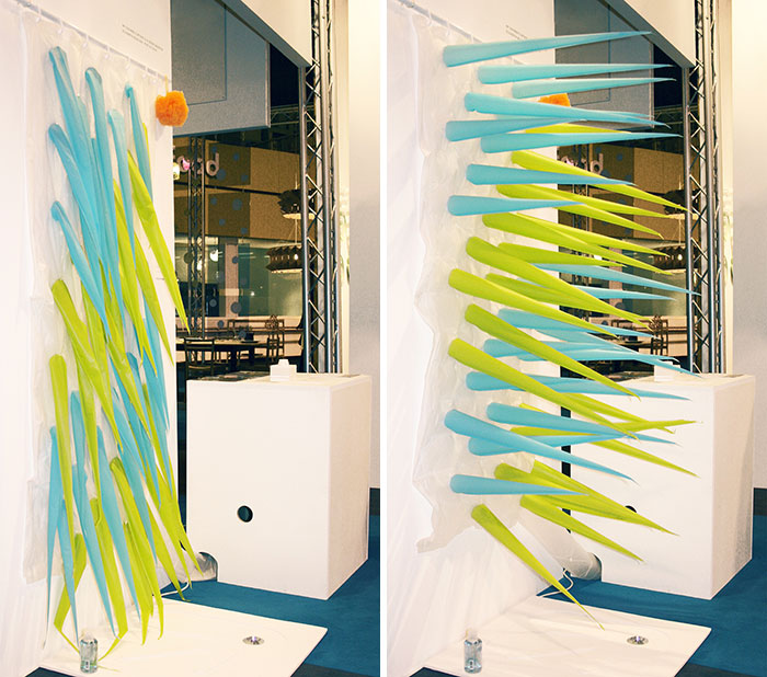 Esta cortina de ducha con pinchos te echa tras 4 minutos - Cortinas para ducha ...
