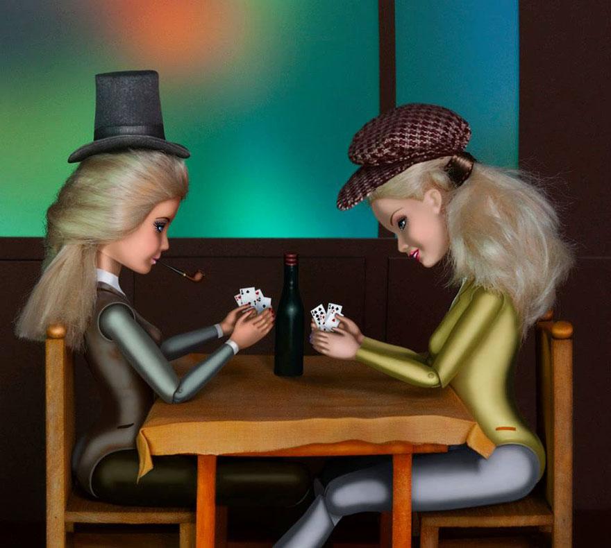 Barbie invade la pintura clásica para hacer sitio a las mujeres en ...