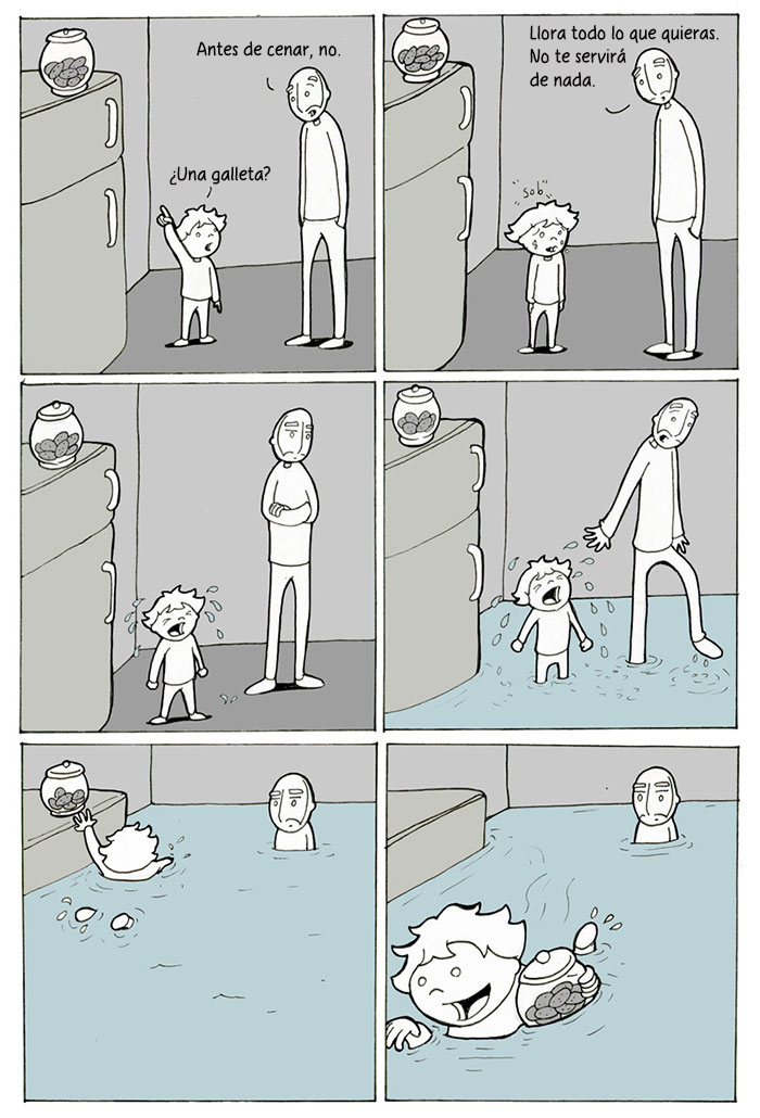 22 Divertidos cómics sobre padre e hijo que explican perfectamente la paternidad