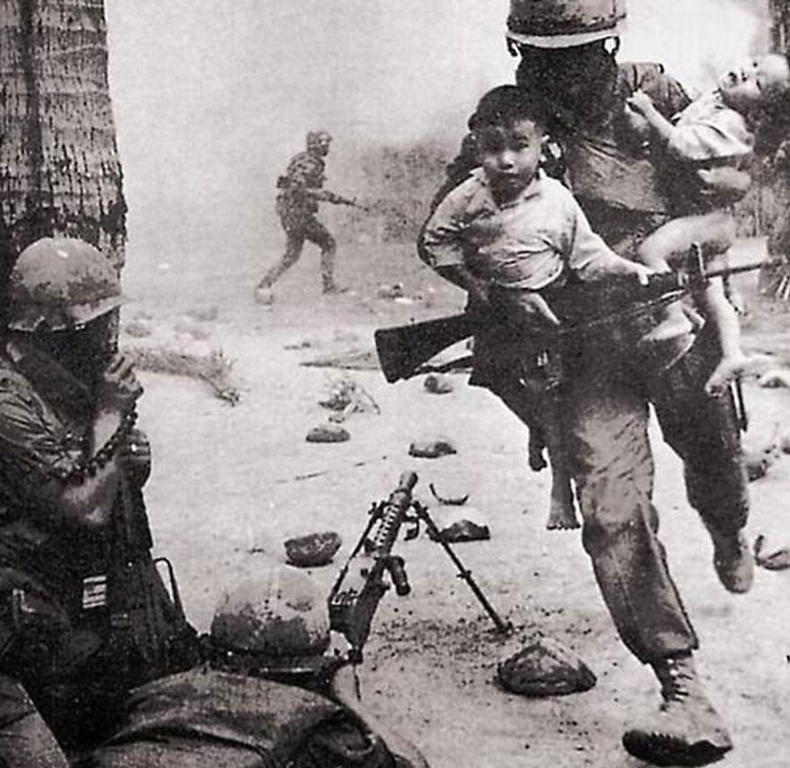 ninos en guerra