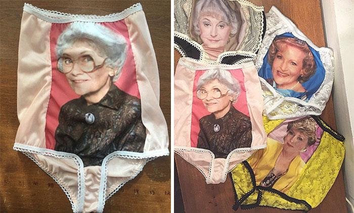 """Las bragas de abuela de """"Las Chicas de Oro"""" son una realidad"""