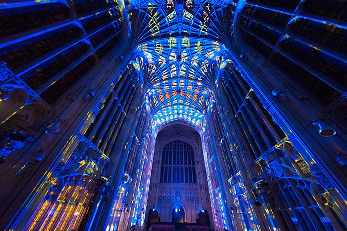 Esta capilla gótica del siglo XVI acabó convertida en un precioso cielo estrellado