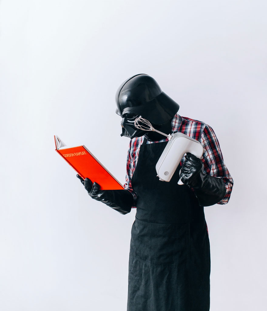 La vida diaria de Darth Vader y su proyecto fotográfico de 365 días