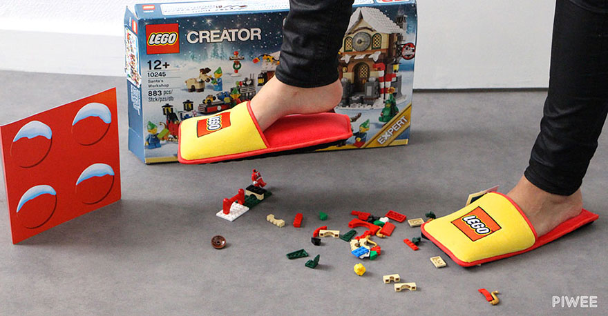 LEGO crea zapatillas anti LEGO para acabar con 66 años de horrible dolor