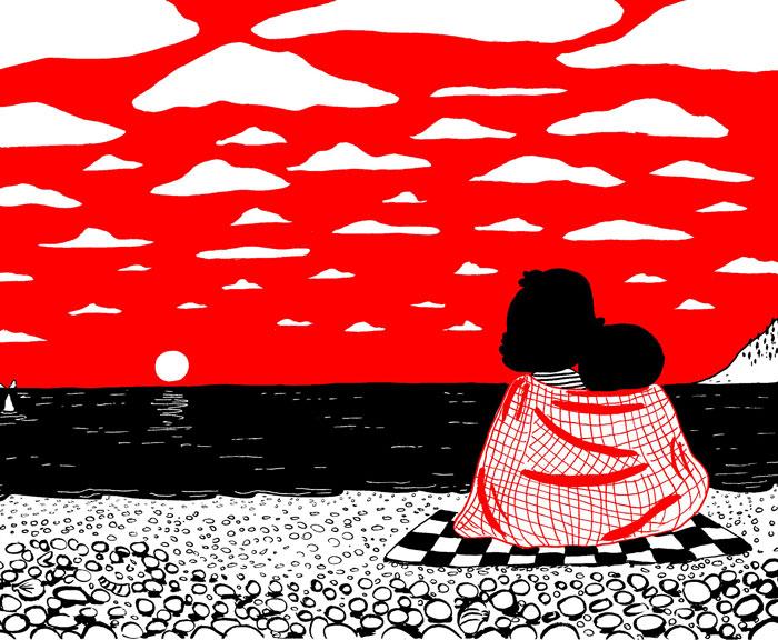 Ilustraciones conmovedoras muestran que el amor está en las pequeñas cosas