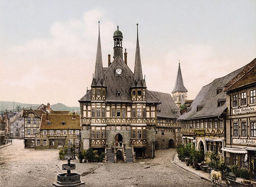 Curiosas fotos a color muestran Alemania en 1900 antes de ser destruida por las guerras