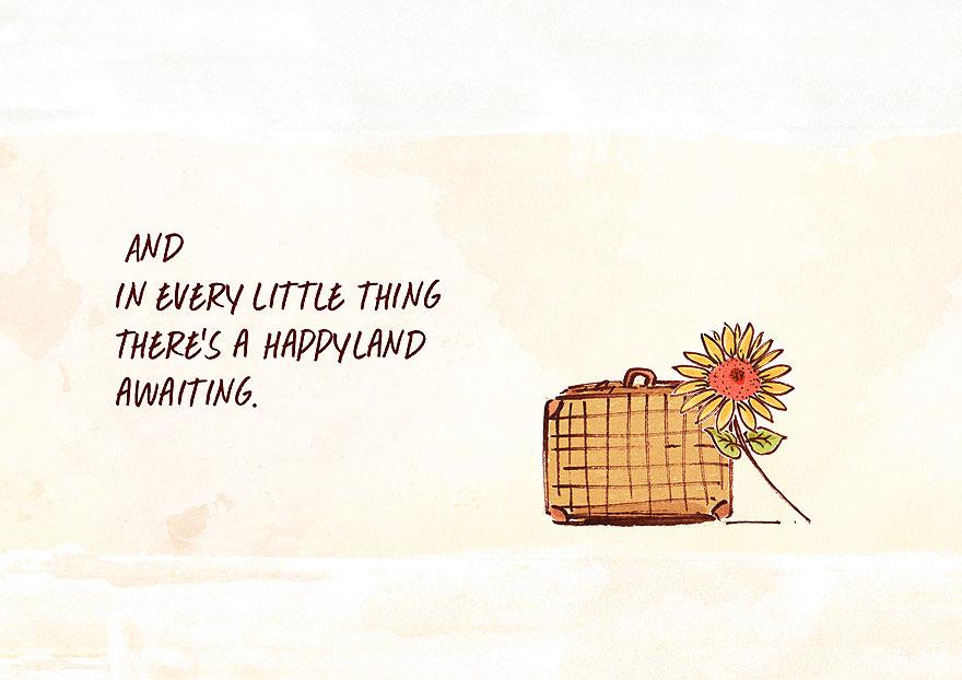 Este hombre viaja por el mundo buscando la felicidad y la encuentra en el lugar más inesperado