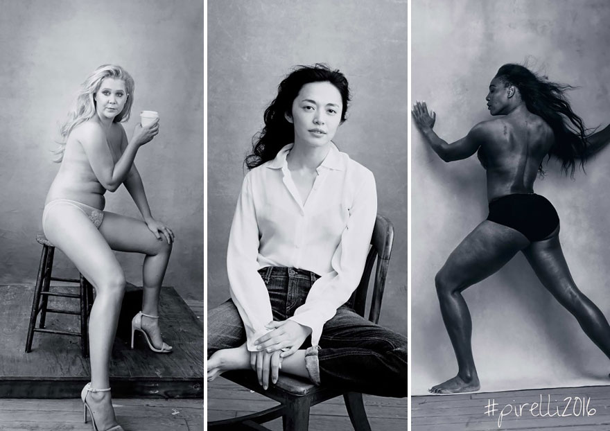 El calendario de Pirelli de 2016 cambia las estrellas sexys por retratos de mujeres influyentes