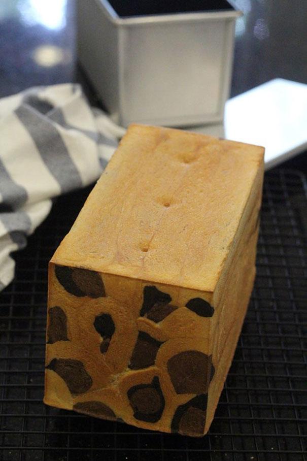 Receta de pan de leche de leopardo, creado por una panadera francesa
