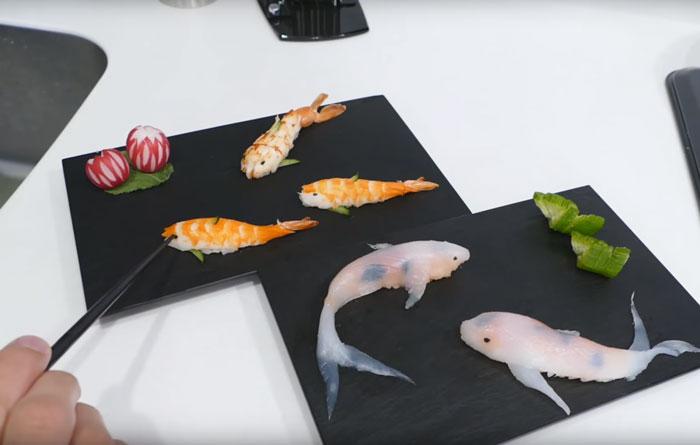 Cómo hacer sushi en forma de carpas koi en unos sencillos pasos