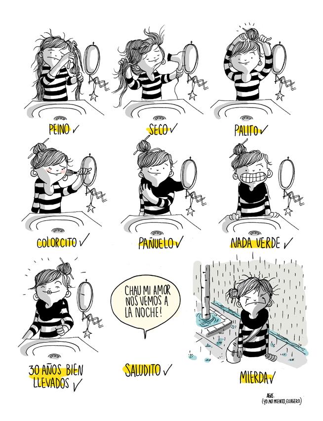 Una artista en su diario de cómics muestra qué significa ser una mujer (20 fotos)