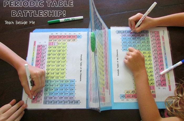 Esta madre recrea el juego batalla naval con la tabla peridica para batalla naval tabla periodica quimica karyn tripp 3 urtaz Gallery