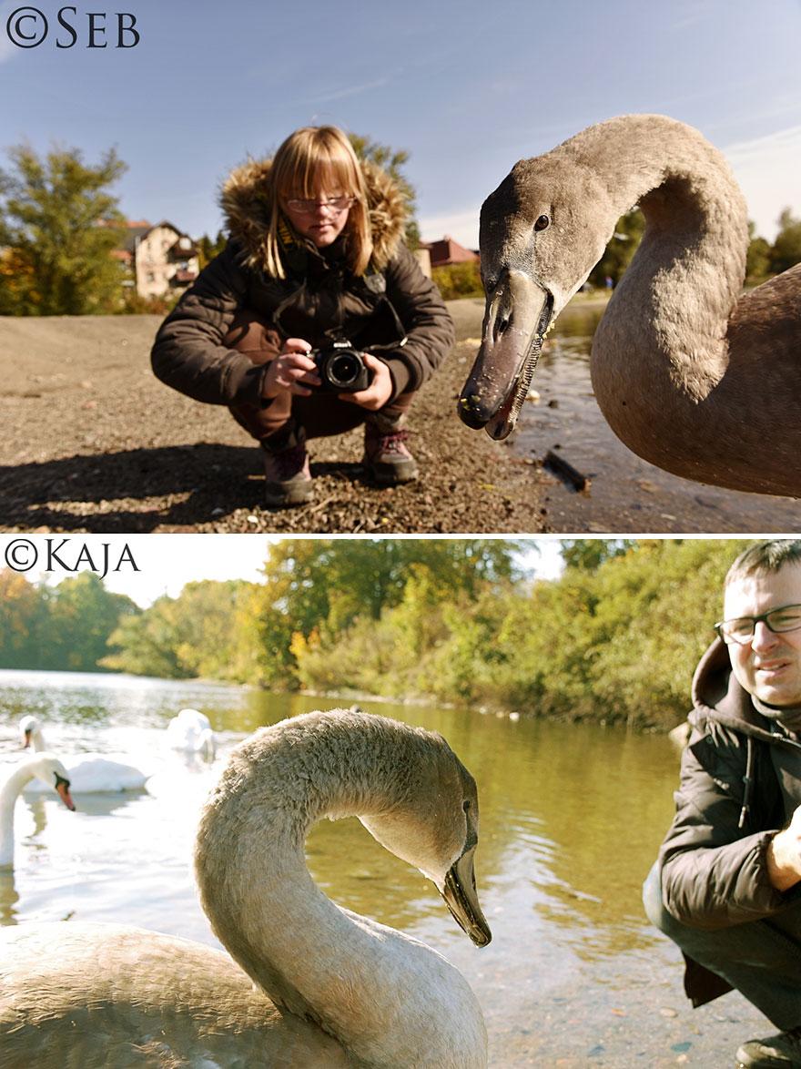 A pesar de ser fotógrafo profesional, decidí aprender de nuevo de mi hija con síndrome de Down