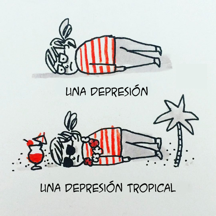Esta artista con ansiedad y depresión ilustra su vida en divertidos cómics