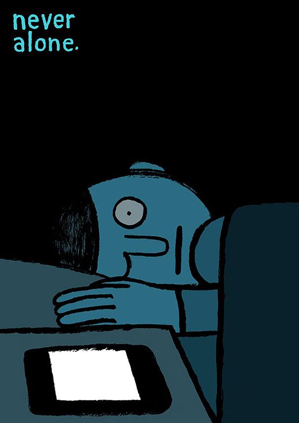 ilustraciones-satiricas-adiccion-tecnologia (5)