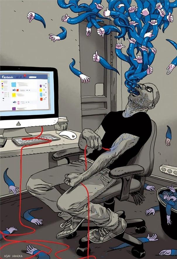 ilustraciones-satiricas-adiccion-tecnologia (6)