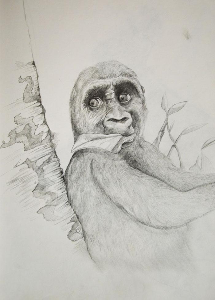 Este artista muestra sus progresos desde que tenía 2 años hasta los 28