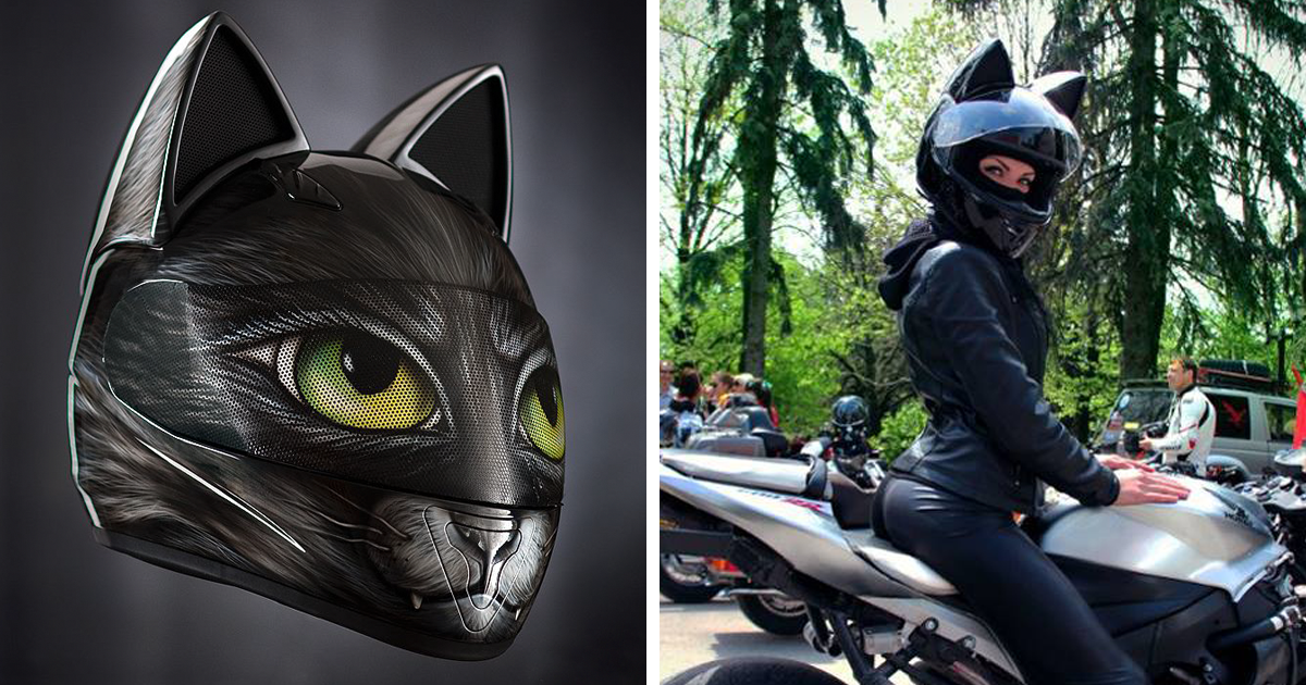 Cat Ear Helmet Dot