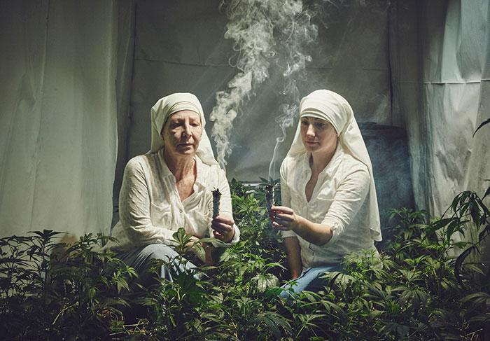 Estas monjas cultivan marihuana para curar al mundo