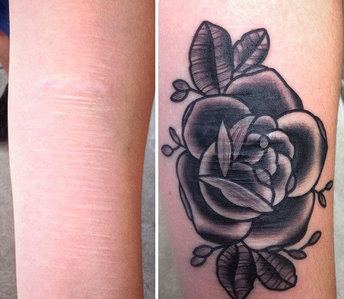 Tatuajes Para Tapar Otro Tatuaje este tatuador ofrece tatuajes gratis para cubrir cicatrices a