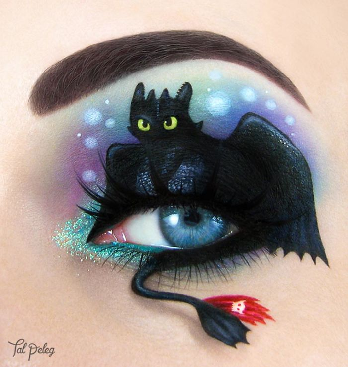 Uso los ojos como lienzo para mi arte (Parte 2)