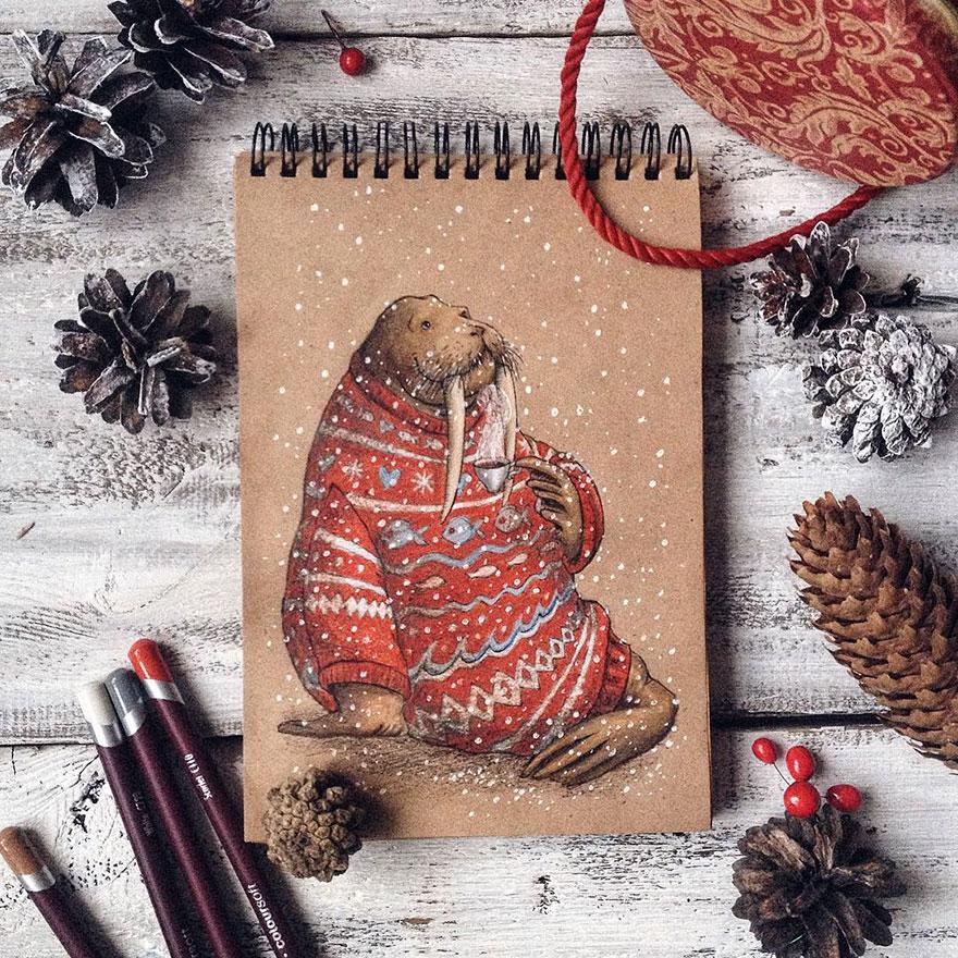ilustraciones-cuentos-hadas-lapices-colores-lia-selina (17)
