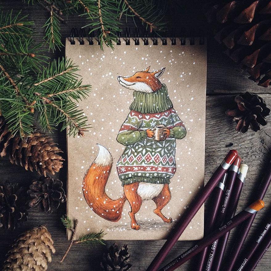 ilustraciones-cuentos-hadas-lapices-colores-lia-selina (20)