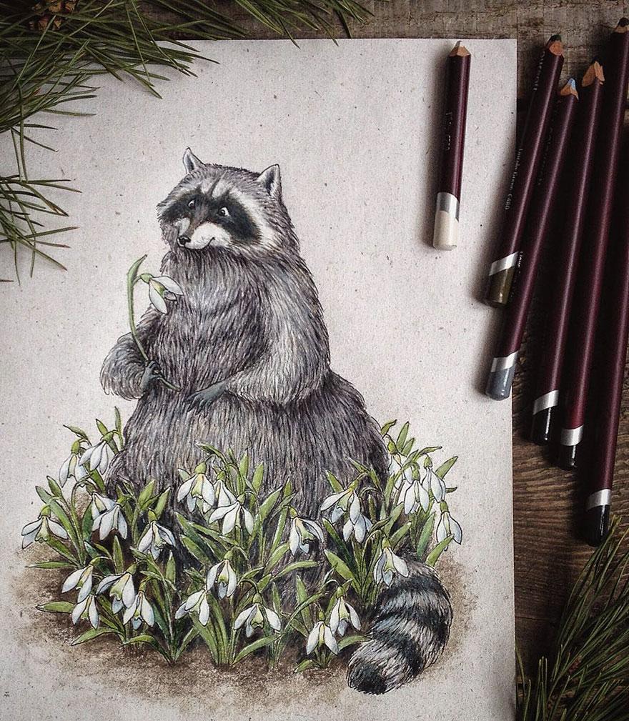 ilustraciones-cuentos-hadas-lapices-colores-lia-selina (6)