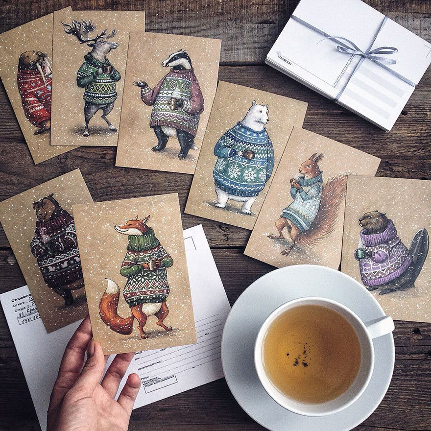 ilustraciones-cuentos-hadas-lapices-colores-lia-selina (7)