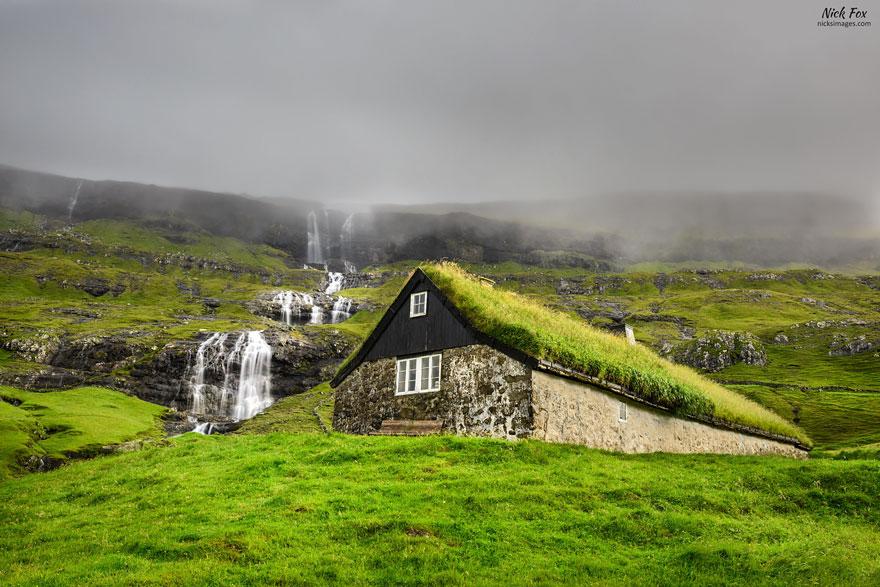10 Casas Escandinavas Con Tejados Verdes Salidos De Un