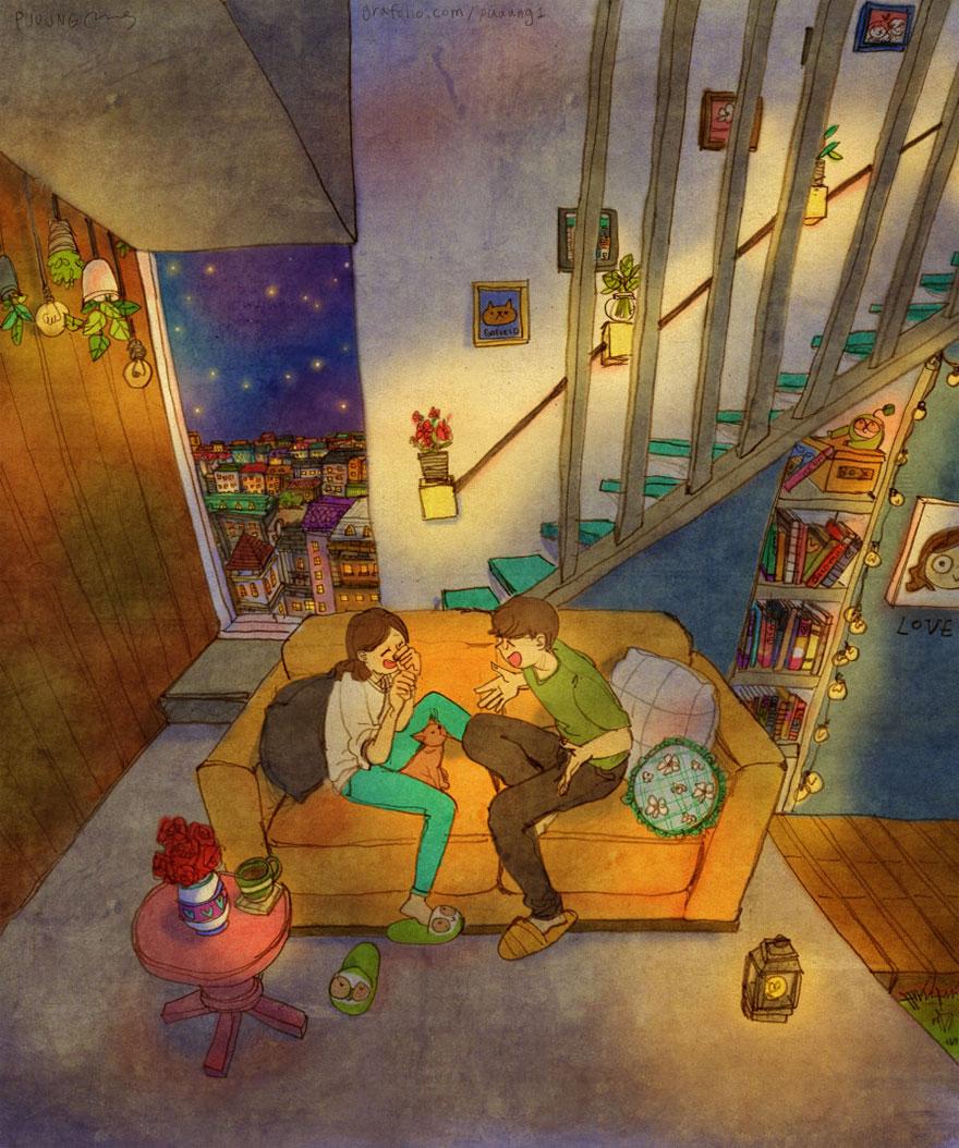 ilustraciones-acuarelas-amor-pequenas-cosas-puuung-2 (14)