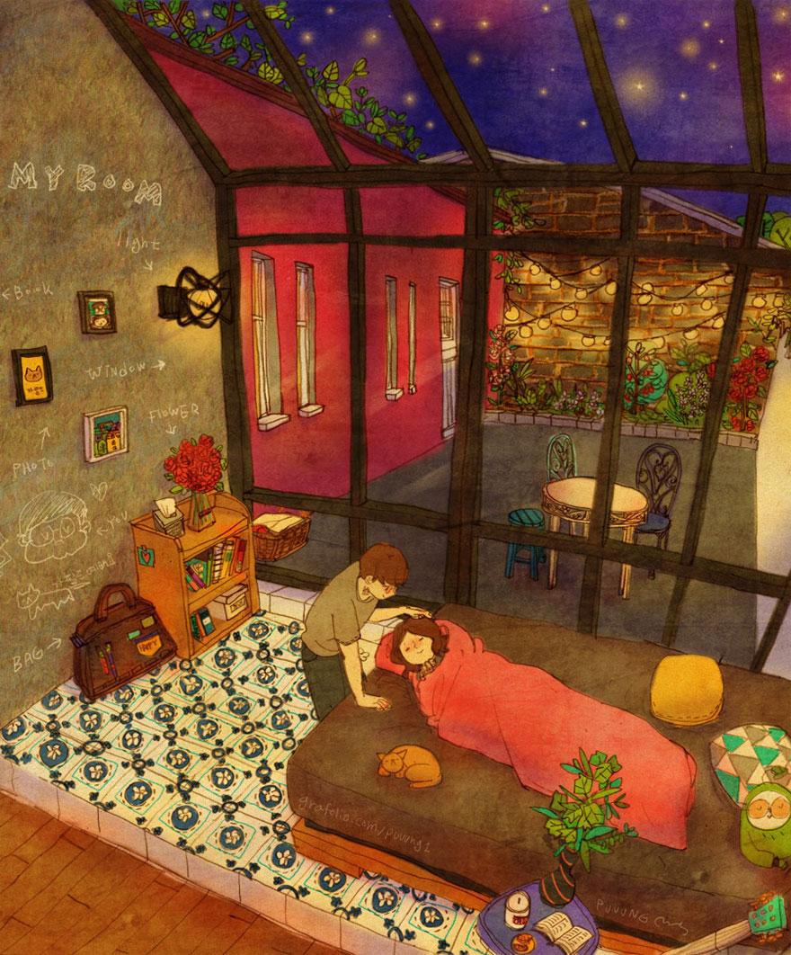 ilustraciones-acuarelas-amor-pequenas-cosas-puuung-2 (18)