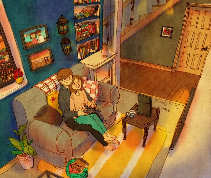 ilustraciones-acuarelas-amor-pequenas-cosas-puuung-2 (20)