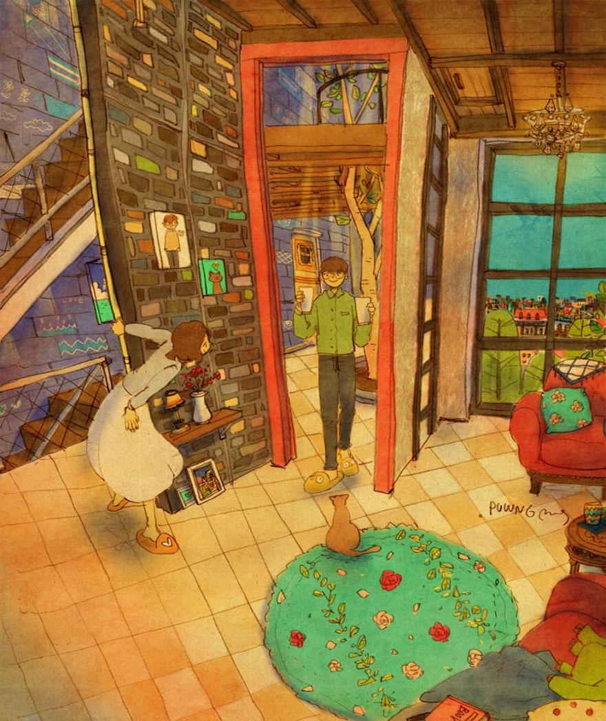 ilustraciones-acuarelas-amor-pequenas-cosas-puuung-2 (6)