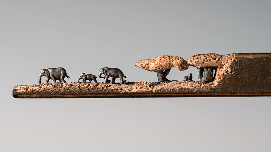familia-elefantes-tallada-lapicero-cindy-chinn (5)