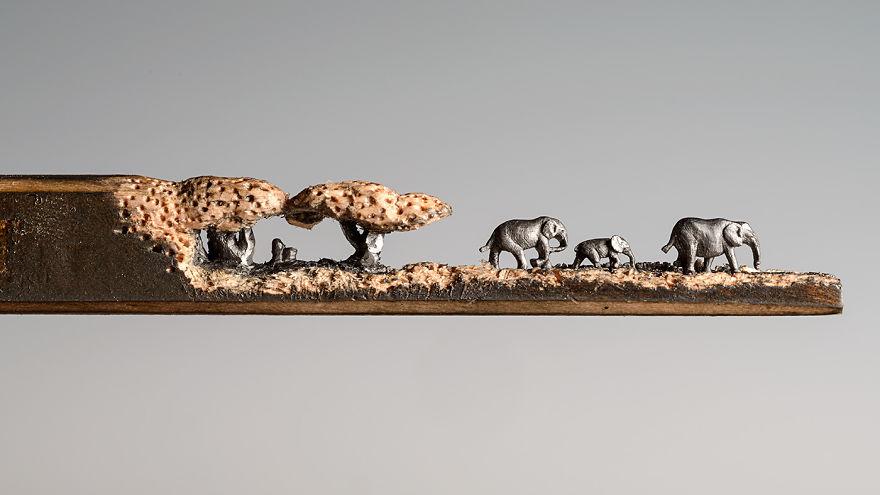 familia-elefantes-tallada-lapicero-cindy-chinn (6)