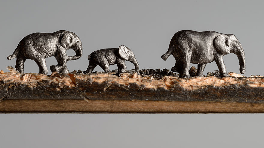 familia-elefantes-tallada-lapicero-cindy-chinn (7)