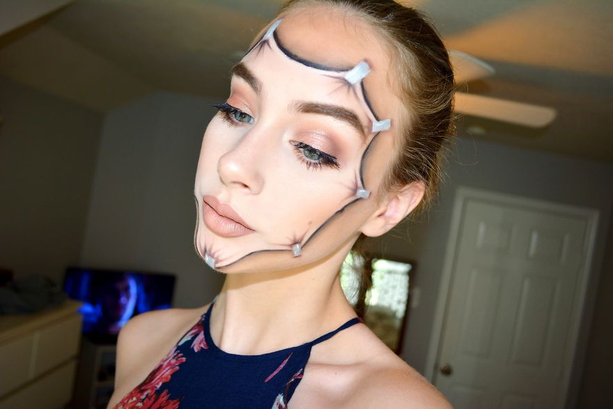 adolescente-maquillaje-creativo-kate-werner (8)