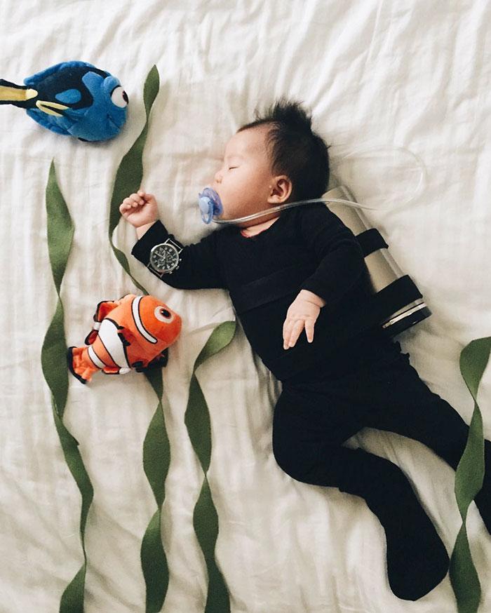 cosplay-bebe-durmiendo-laura-izumikawa-choi (4)