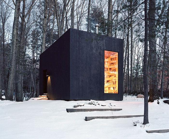 Esta recóndita biblioteca en el bosque es el sueño de todo amante de los libros