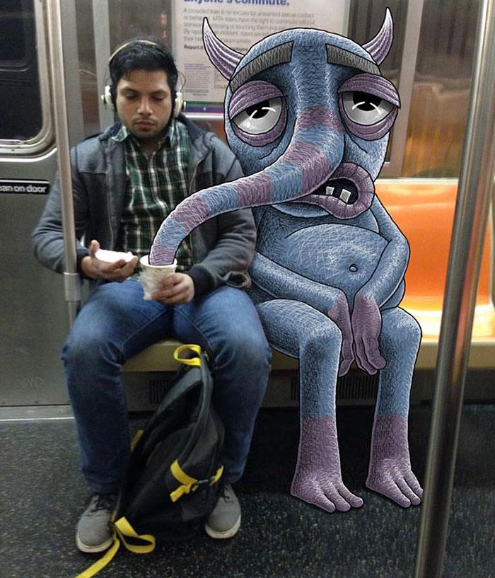 dibujos-monstruos-metro-nueva-york-ben-rubin (1)